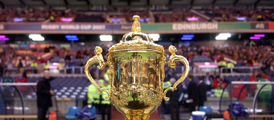 The Webb Ellis Cup (Rugby World Cup)