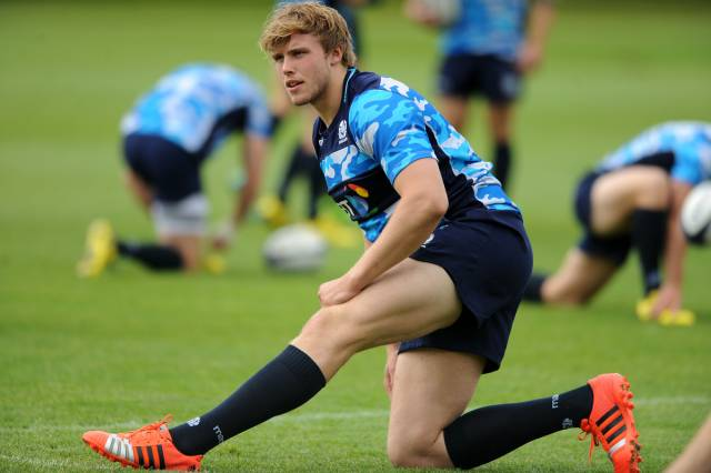 Jonny Gray - Scotland lock. squad training, BT Murrayfield Stadium