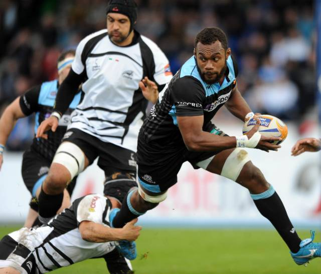 Leone Nakarawa - Glasgow and Fiji number 8