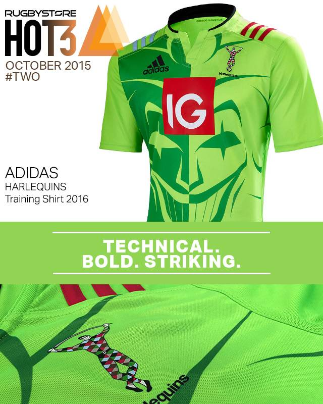 harlequins training jersey