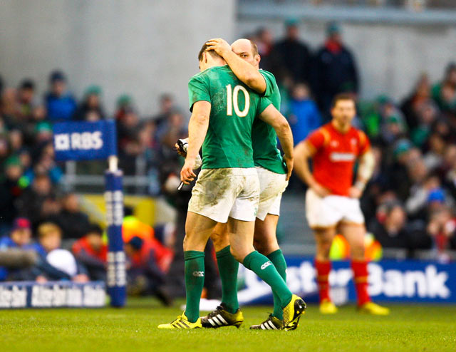 Ireland were left dejected after losing a 13 point lead to draw against Wales in Round 1