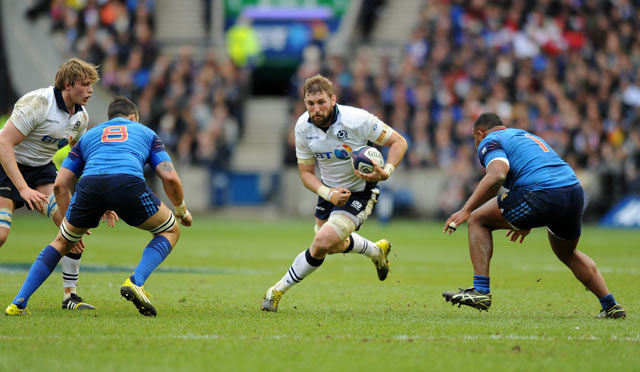 John Barclay has been a stand out player for Scotland in the 2016 6 Nations.