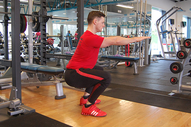 G1 - body weight squat