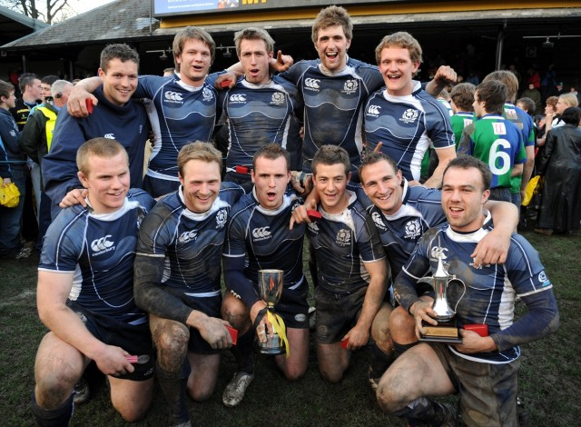 Spot a very young looking Scotland Captain here in 2008.