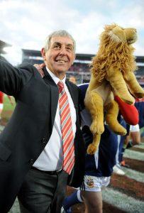 Leo with Ex- Lions Head Coach Ian McGeechan