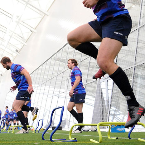 Rugby Training for Outside Backs: Strength and Conditioning