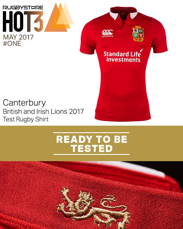Canterbury British Lions Rugby Panelled T-Shirt