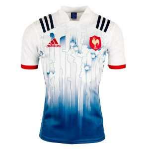 2017 Mens France 7's Home Rugby Shirt