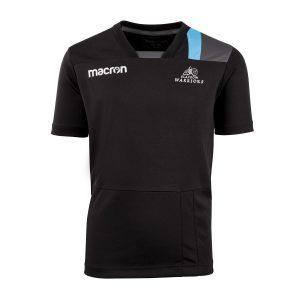 2018 Kids Black Glasgow Warriors Dry Training Tee Shirt
