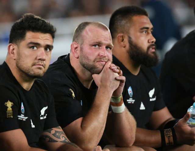 Disappointed All Blacks following RWC 2019 defeat